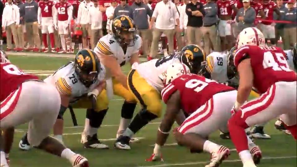 Nate Stanley vs Nebraska