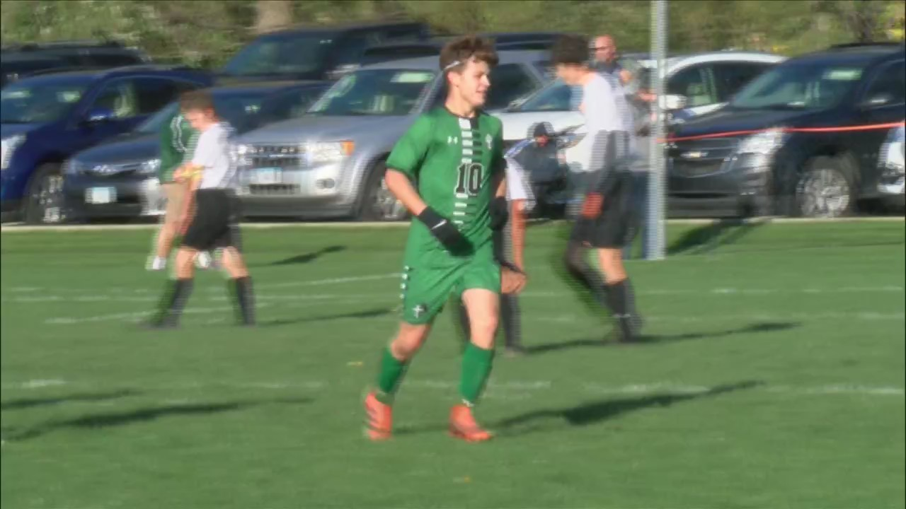 Alleman Soccer rolls to a 11-2 win.