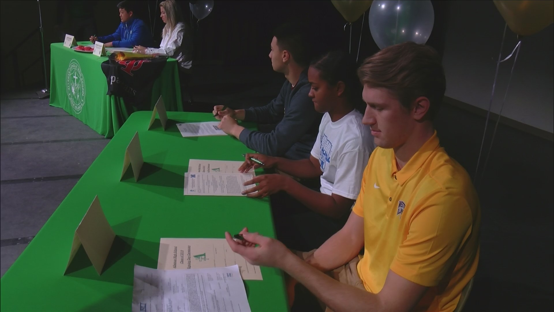 Alleman Signing Day