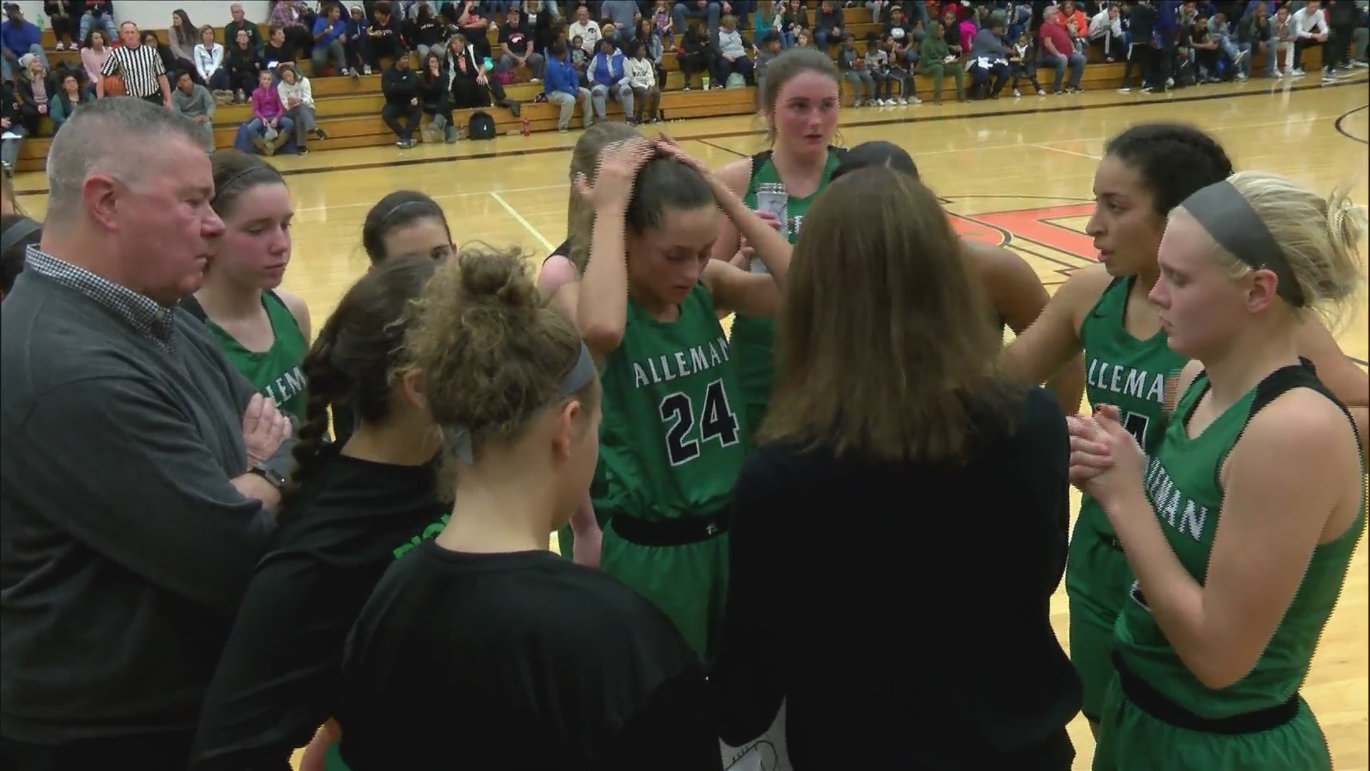 Alleman tops Big Six rival UT