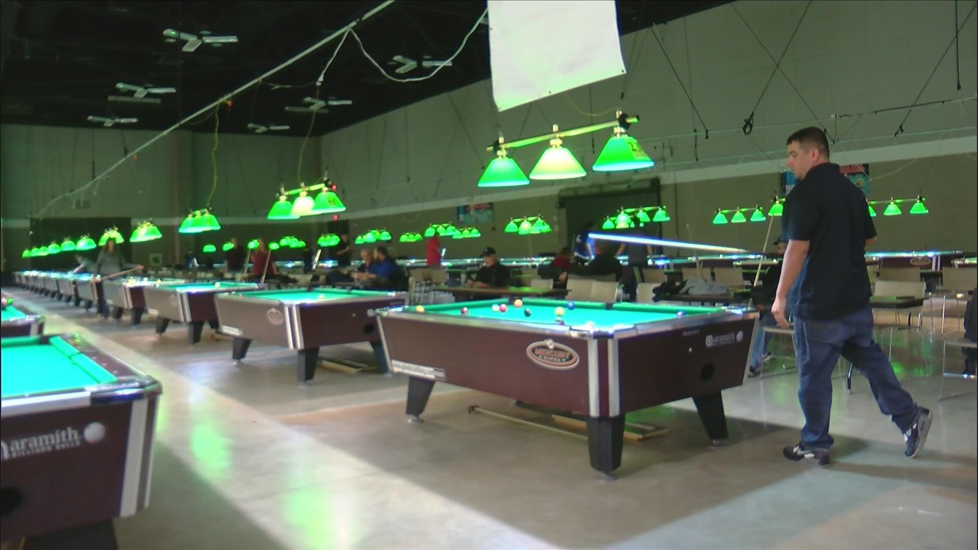 Billiards tournament