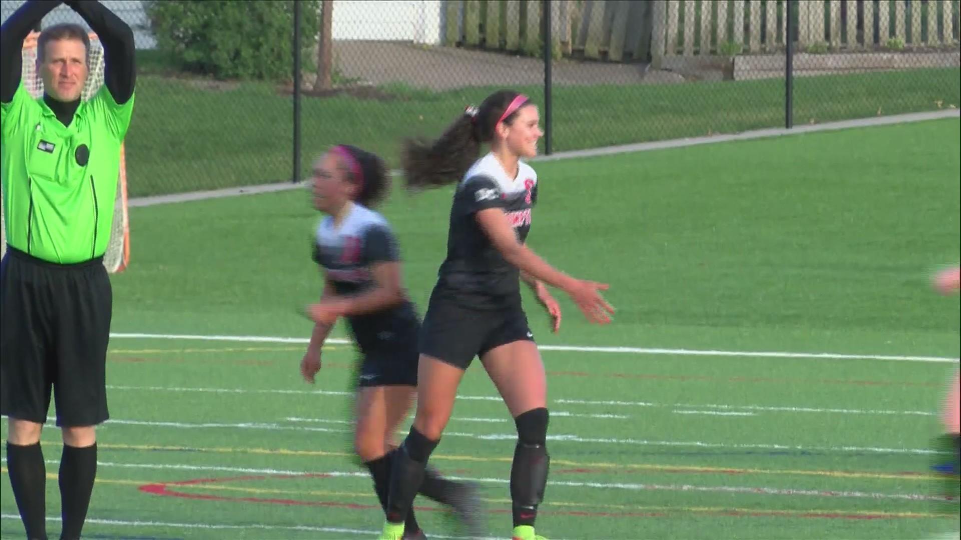 Assumption Girls win 5-0.
