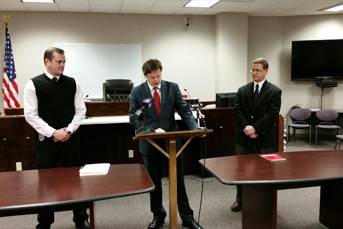 R.I. Co. State's Attorney John McGehee addresses the media_-6709817145047495474