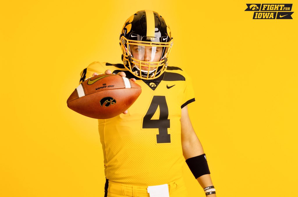 release date: 37e20 4ef72 Hawkeyes unveil first gold uniform with throwback 'wings ...