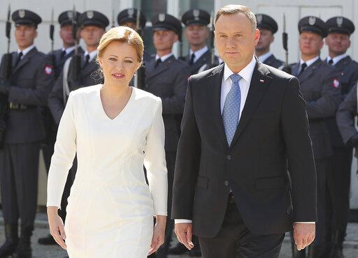 Andrzej Duda, Zuzana Caputova