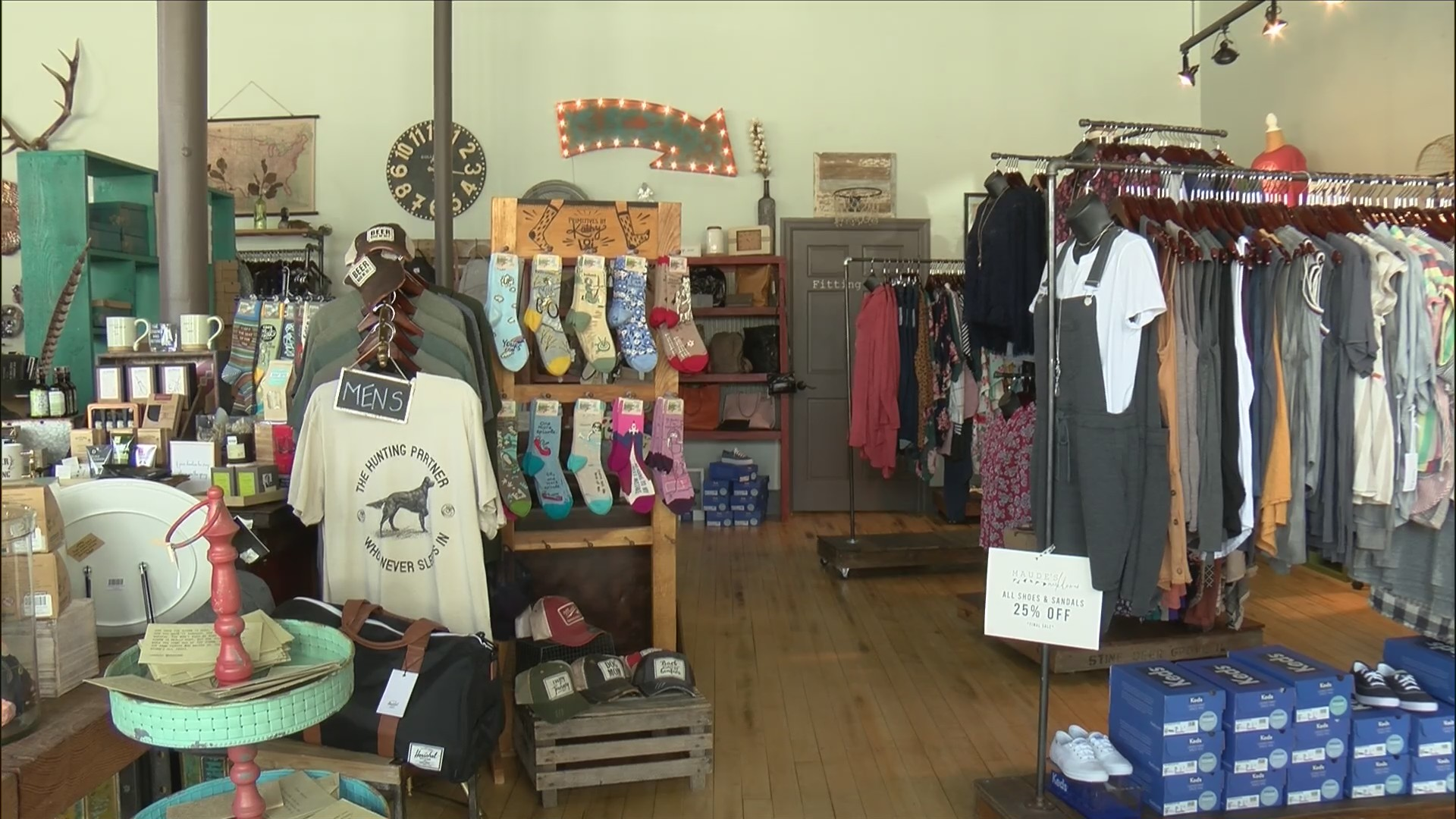 Trendy boutique in Illinois making sure no one has the same