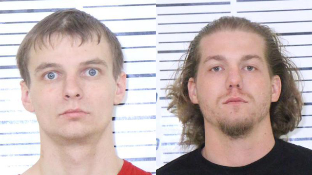 Kyler Eagan, 23, and Benjamin Wendell, 31, both of Davenport were arrested on March 24 by Davenport Police after a two-state pursuit.