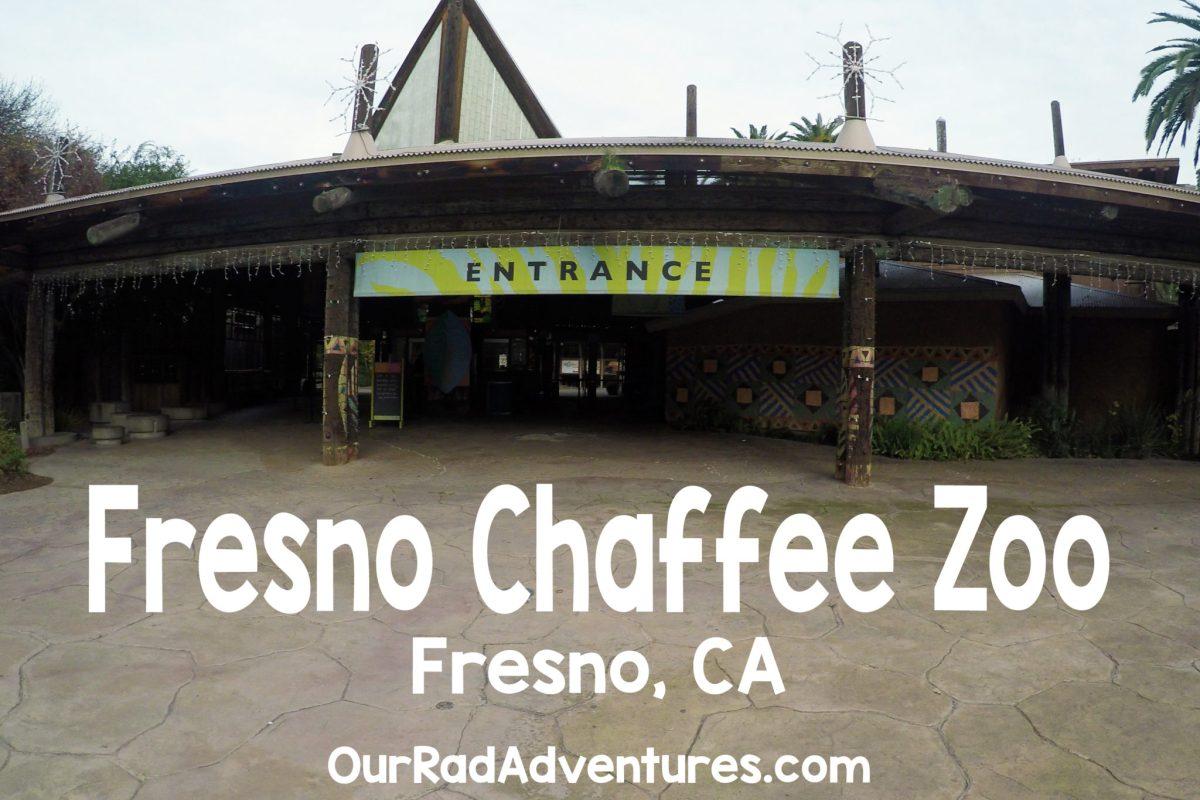 Fresno Chaffee Zoo Entrance