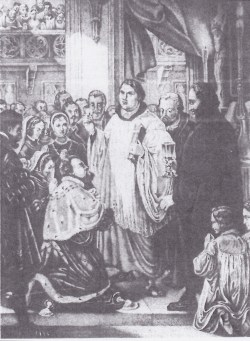 Luther in surplice