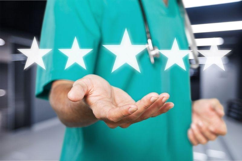 nurse-hands-five-stars