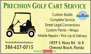 Precision Golf Cart Service