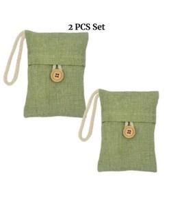 2 PCS Bamboo Charcoal Air Freshener - Main Image Set