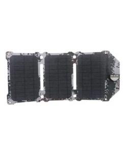 21W Camping Solar Panel - Dual USB Solar Charger - Camo