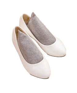 Bamboo Charcoal Bag Shoe Deodorant Deodorize - With White Shoes