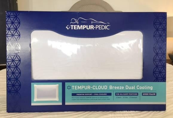 tempurpedic cloud breeze dual cooling