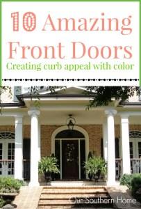 Front Door Color Inspiration