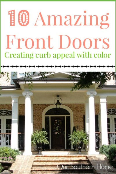 Front Door Color Inspiration