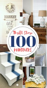 100 DIY Thrift Store Makeovers