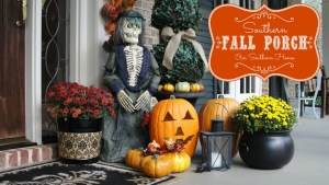 Southern Fall Porch