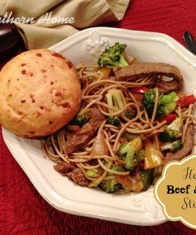 Healthy Beef & Veggie Stir-Fry