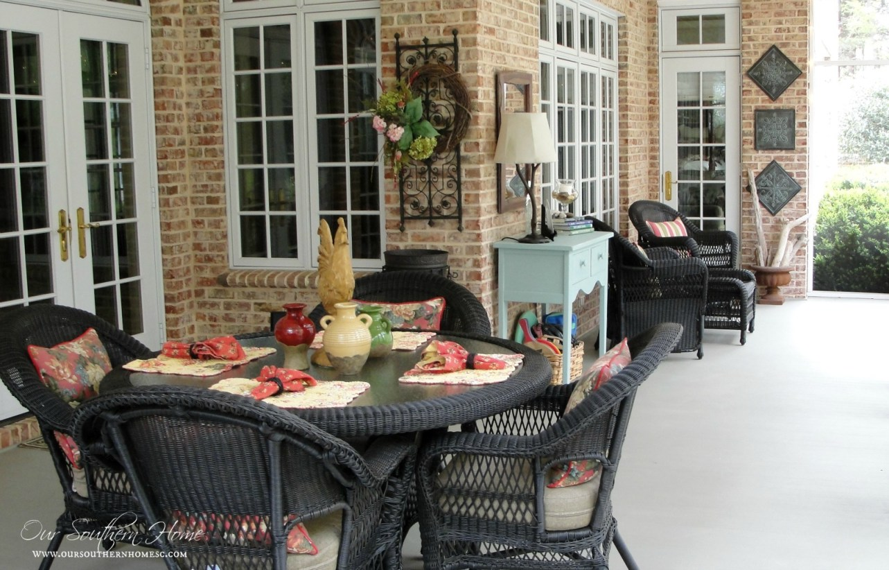 our southern screened porch