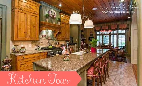 French Country Kitchen Tour Our Southern Home