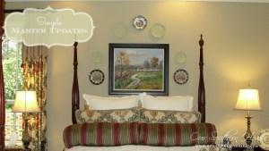 Master Bedroom Update {Hanging Plates}