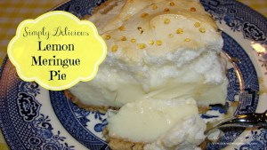 Lemon Meringue Pie {Easy Peasy}