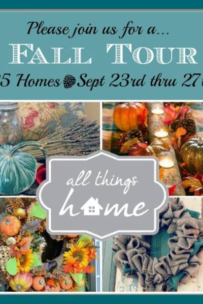 All Things Home {Fall Tour}