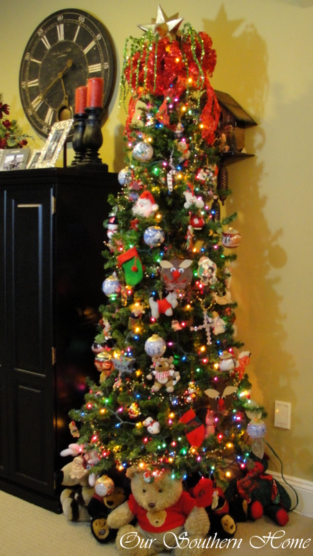 Playroom tree from Our Southern Home