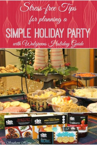 Simple Party Planning with Walgreens Holiday Guide