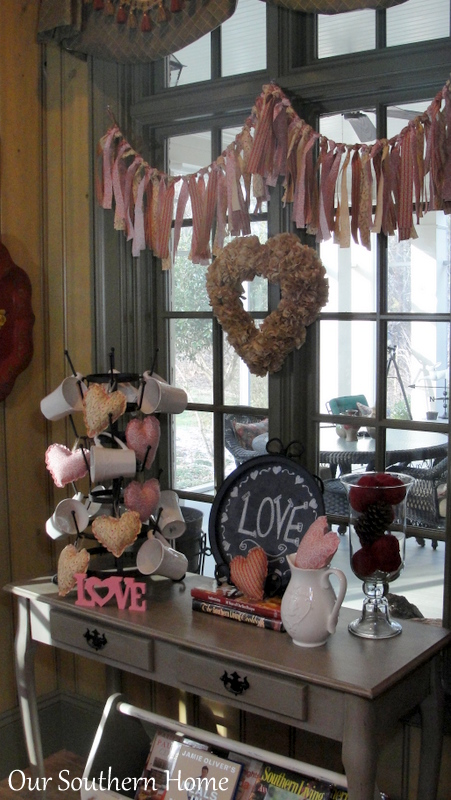 Valentine's Day Decor from Our Southern Home