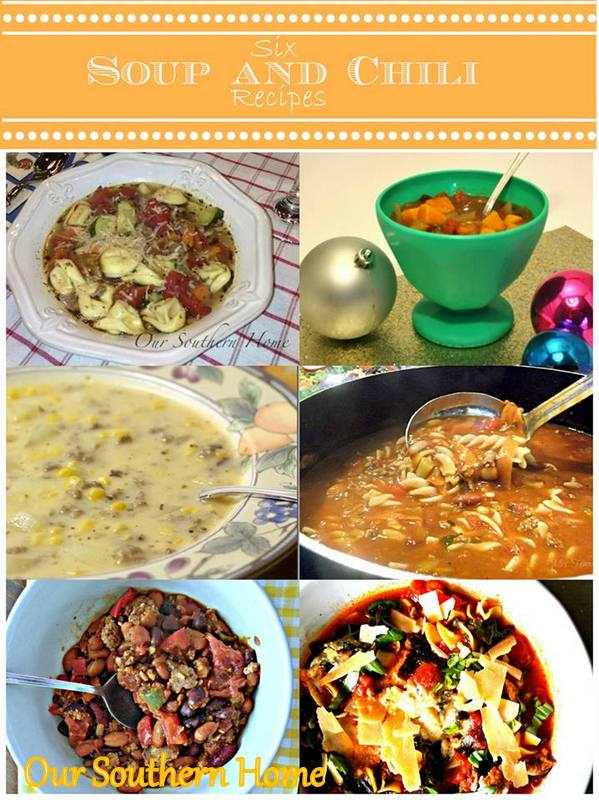 Soups and Chilis from Our Southern Home