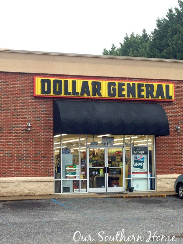 Dollar General Spring Cleaning by Our Southern Home #springcleaning #dollargeneral #ad