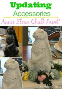 Bunny Makeover with Chalk Paint