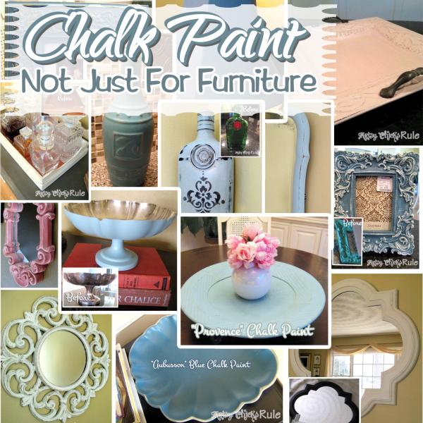 Annie Sloan Chalk Paint Not Just For Furniture / Artsy Chicks Rule