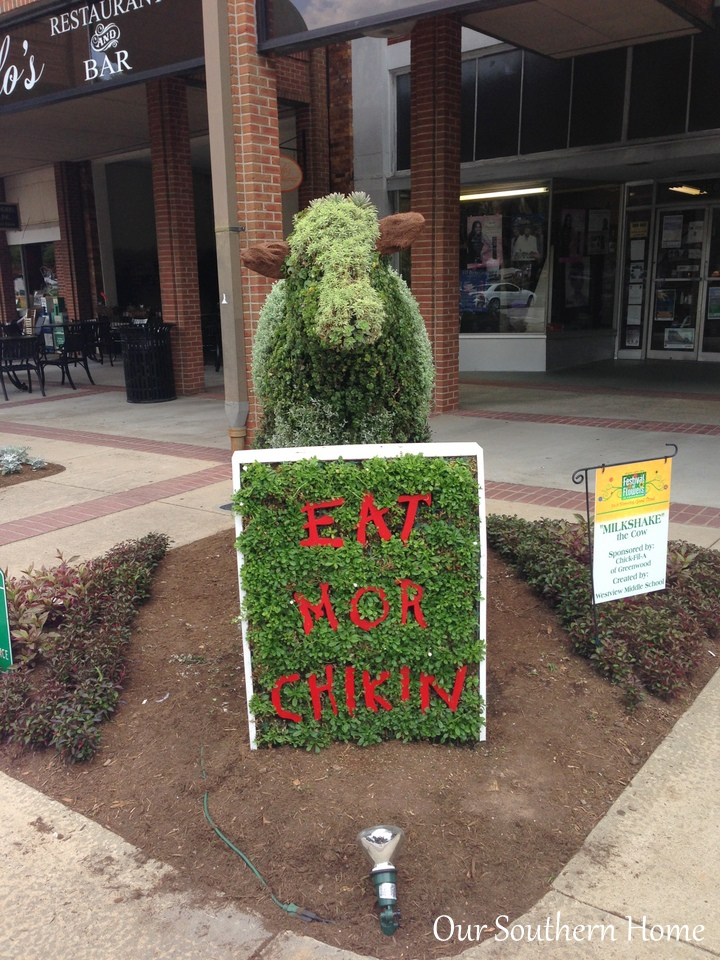 SC Festival of Flowers in Greenwood, SC via Our Southern Home #flowers