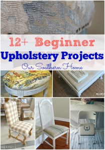 Beginner Upholstery Projects