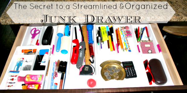 how to organize junk drawer feature