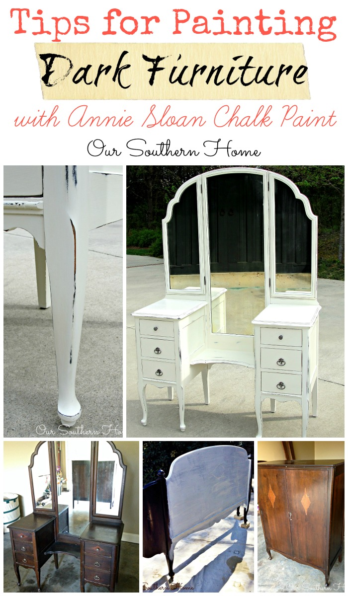 Tips For Painting Dark Furniture Our Southern Home