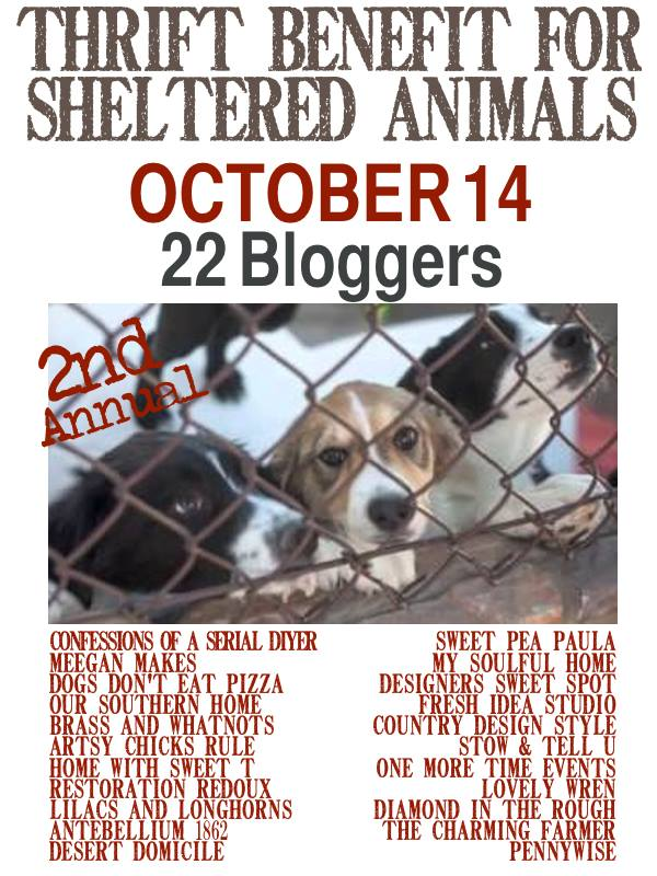 2nd Annual Thrift Benefit for the Animals via Our Southern Home