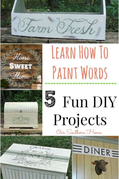 Learn How to Paint Words