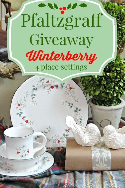 Winterberry China Giveaway