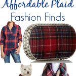 2014 Affordable plaid fashion finds via Our Southern Home