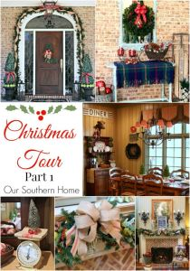Southern Christmas Home Tour Part 1