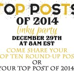 Top Posts of 2014 Link Party via Our Southern Home
