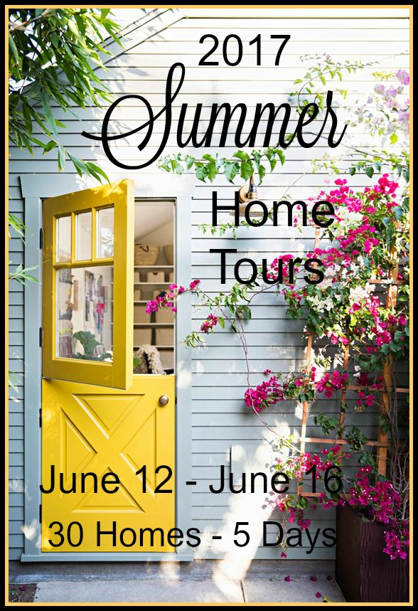 HUGE 2017 summer home tour of top bloggers! So much inspiration!