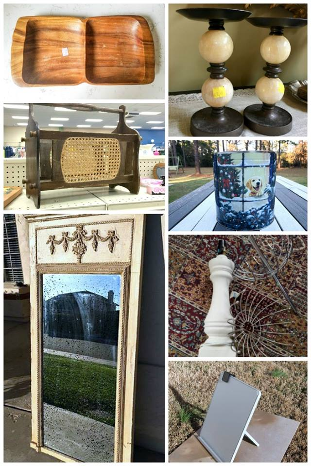 Thrift Store Decor Team is at it again! Loads of inspiration for the new year! #thriftstoremakeovers