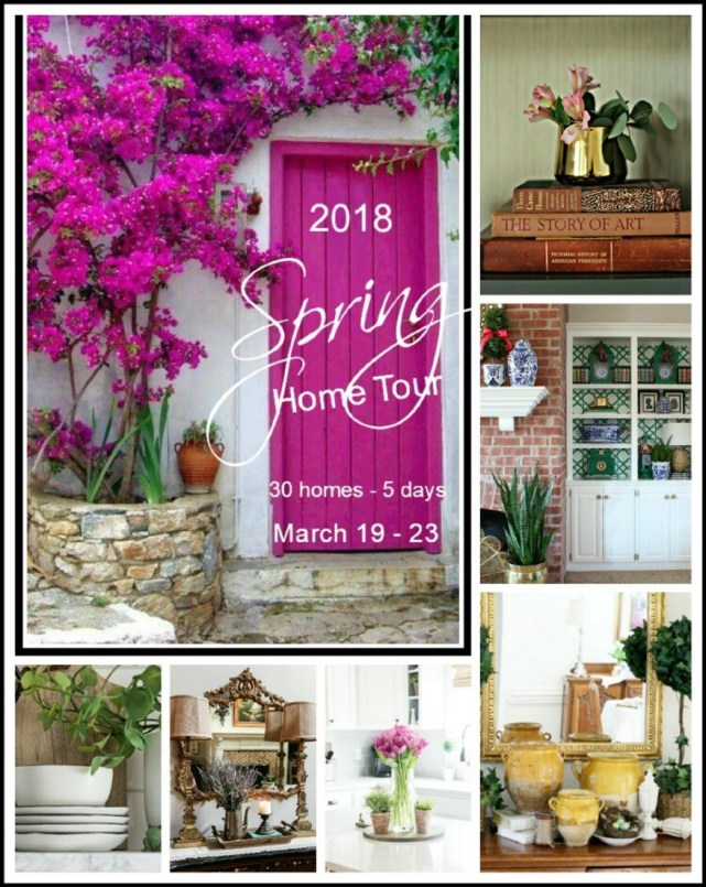 Amazing spring home tour with top bloggers!!