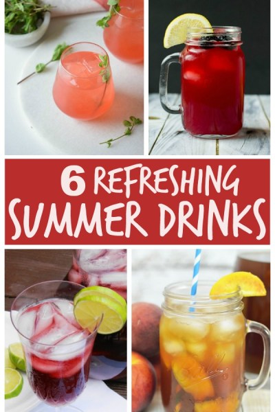 6 Refreshing Summer Drinks to survive the heat!